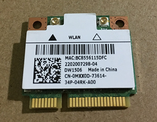 Original Dell DW1506 built-in wireless network card Notebook network card  Dell 660S V270 network card
