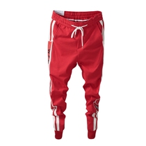 Quick red reds with trousers slim Pants Society