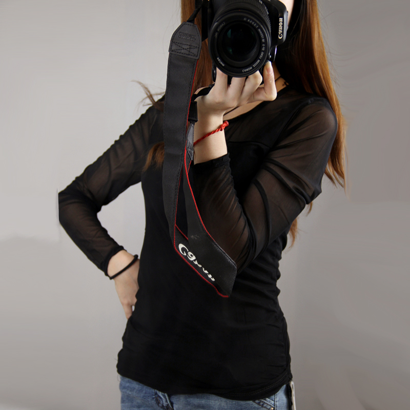 2014秋装雪纺网衫女长袖韩版修身双层蕾丝打底衫纯色圆领t恤上衣