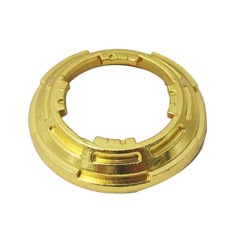 v玩具王玩具战魂3飓风配件黄金土陀螺裂变环V5代钥能陀尖奥迪双钻