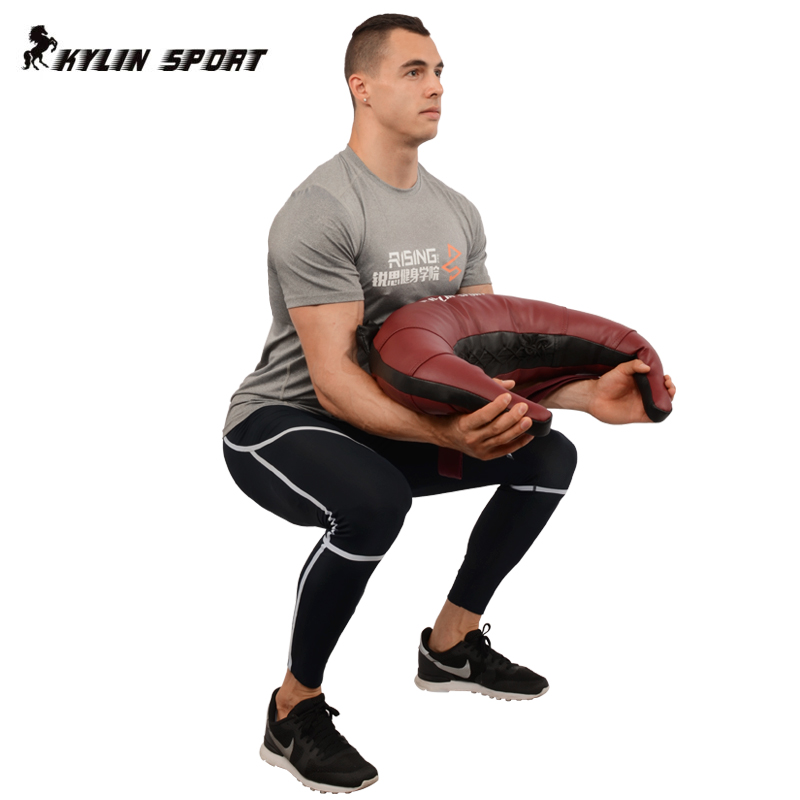 Bulgarian package croissant fitness squat weight training bag fitness  training sandbags weight equipment explosive power