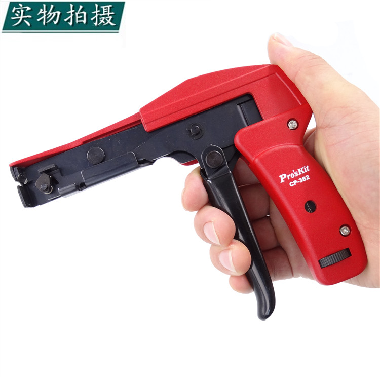 USD 50.54] Imported Taiwan po workers CP-382 cable tie gun, cable ...
