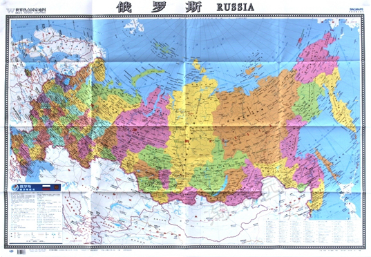 Usd 1040 russian map of the world hot countries map the domestic russian map of the world hot countries map the domestic publication of foreign language control large print version of the fold hung dual use 865mm x 1170mm gumiabroncs Gallery