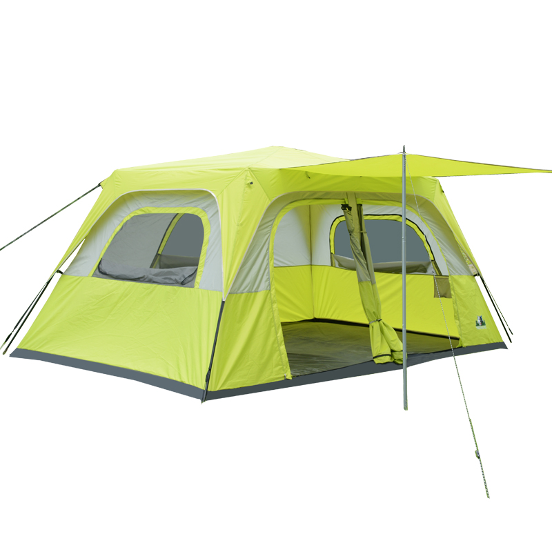 Sky Wolf Outdoor Two bedroom tent c&ing 6 people 8 people 10 people 12 people two room multi-automatic large tent  sc 1 st  EnglishTaobao.net & USD 291.47] Sky Wolf Outdoor Two bedroom tent camping 6 people 8 ...