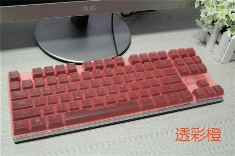 机械风暴PLU ML-87键机械键盘台式机保护膜 彩色笔记本膜