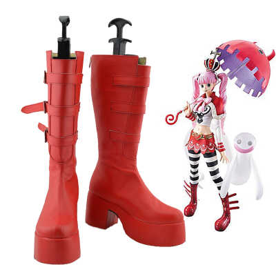 taobao agent One Piece Perona Trifle Bottom COSPLAY Shoes Anime Cos Shoes Customized No. A47