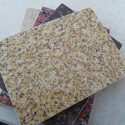 Calcium silicate imitation marble UV decorative board inner and outer wall beauty expert --- fluorocarbon paint outer wall decorative panel