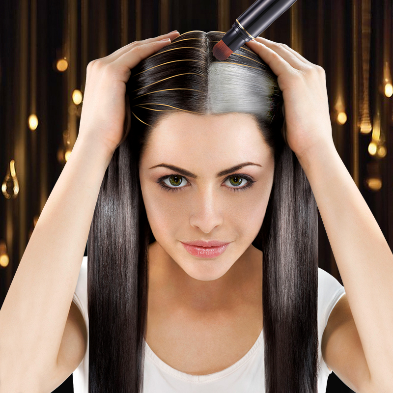 How To Color White Hair Black Naturally Best Hair Style 2017
