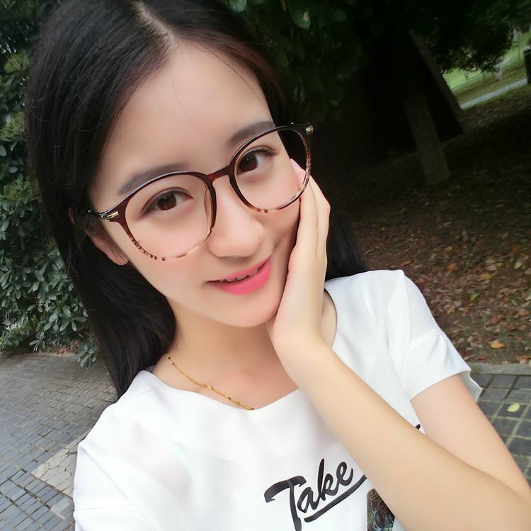 复古眼镜框TR90可配a圆脸女款大脸超轻圆脸框韩版潮眼睛大框眼镜架