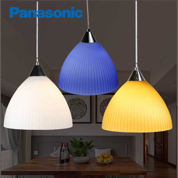 Panasonic LED Chandelier Lamp Chandeliers Modern Minimalist Living Room  Study Balcony Round Creative Dining Room Hanging Lighting