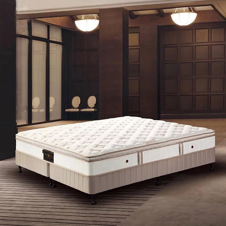 酒店独立弹簧床垫席梦思超软1.5 1.8米2乘2.2米真空压缩卷包双人