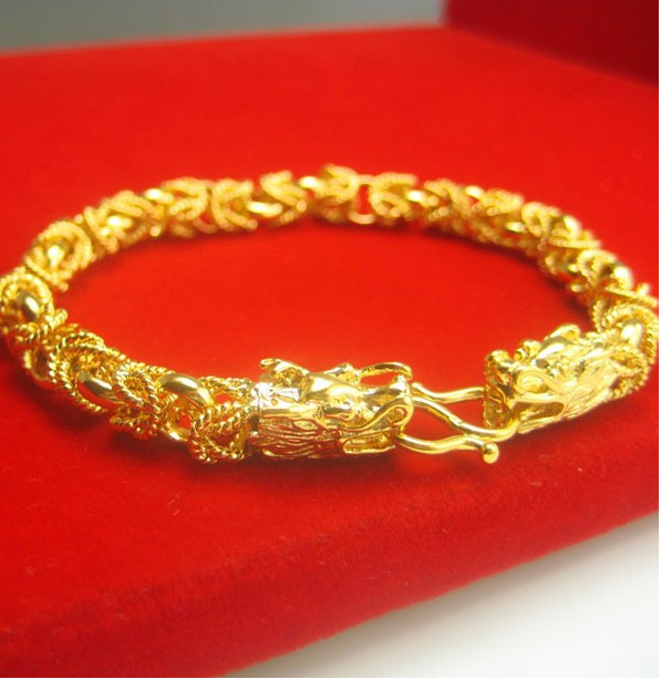 bangle twisted gold is plated x mm s itm mens inch chain rope thick loading image bracelet bangles braided