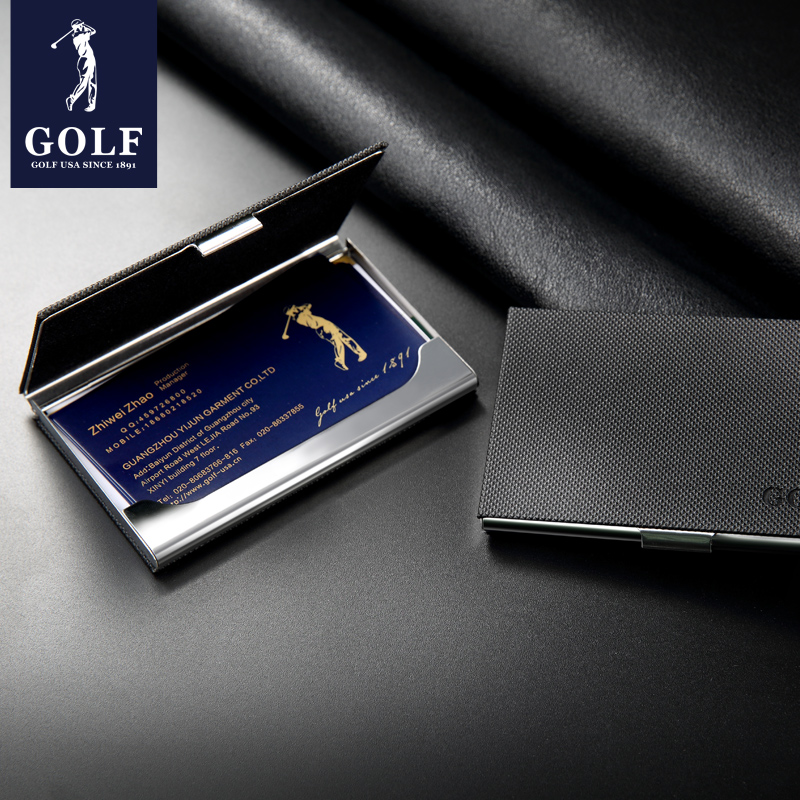 Usd 3992 Golf Golf Business Card Holder For Men Business Card