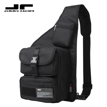Men's Pouch Bag / Sling Bag JR D706D-BK For Casual Sports And Recreation