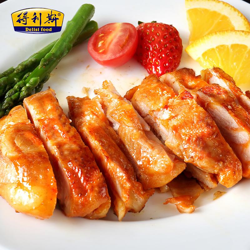 得利斯西式鸡排新鲜鸡排套餐10片1300g优选大鸡腿肉炸鸡扒嫩鸡