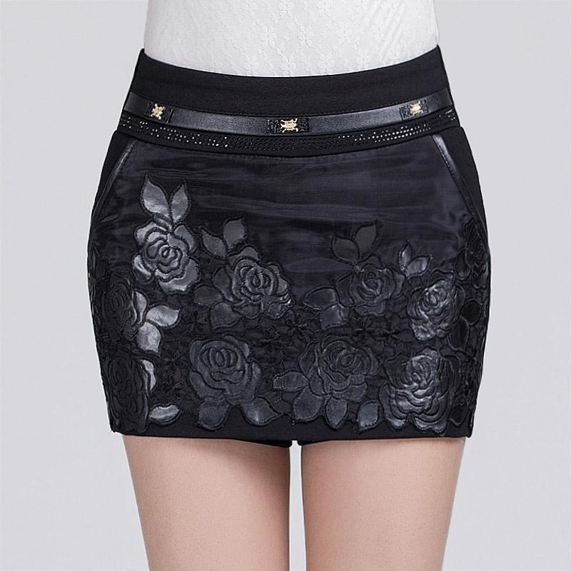 新款半身裙裤修身靴裤2015春冬装毛呢短裤女裤子韩版包臀裤裙女装