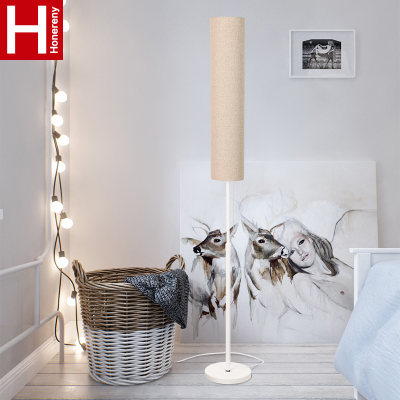 Honglang modern minimalist floor lamp living room bedroom study restaurant Nordic creative LED vertical table lamp
