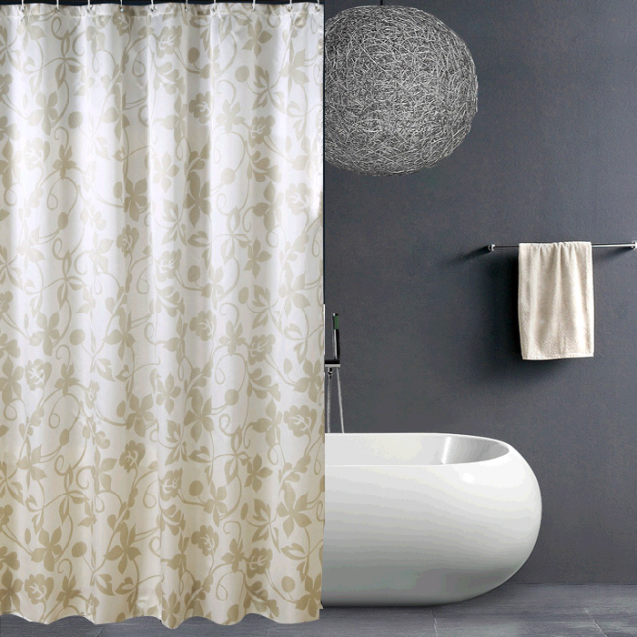 Thickened Shower Curtain Ivy Waterproof Mildew Plus Lead Wire