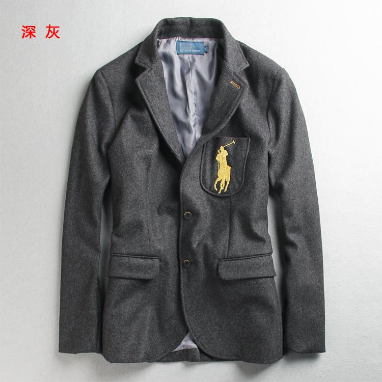 50%羊毛 手感柔软 男士修身休闲西装上衣外套潮 外贸原单专柜尾货
