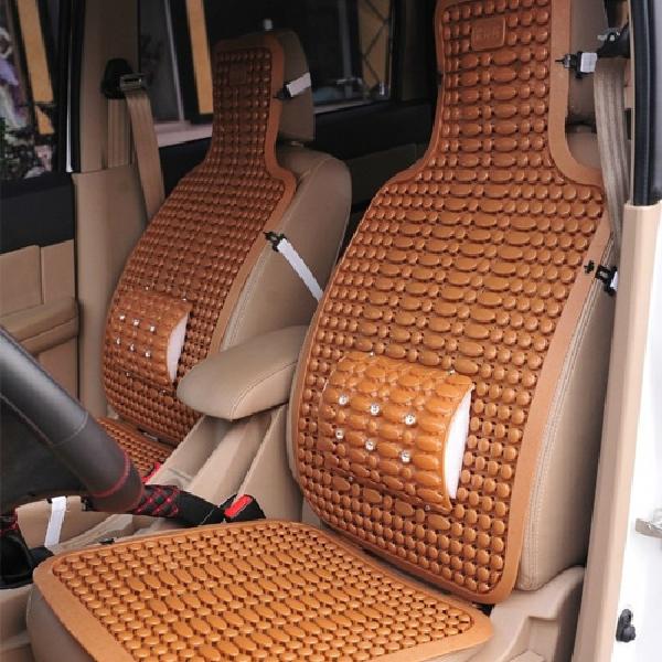 Universal Car Plastic Cushion Ventilated Breathable Van Size Vans Seat Single Piece Summer Cool