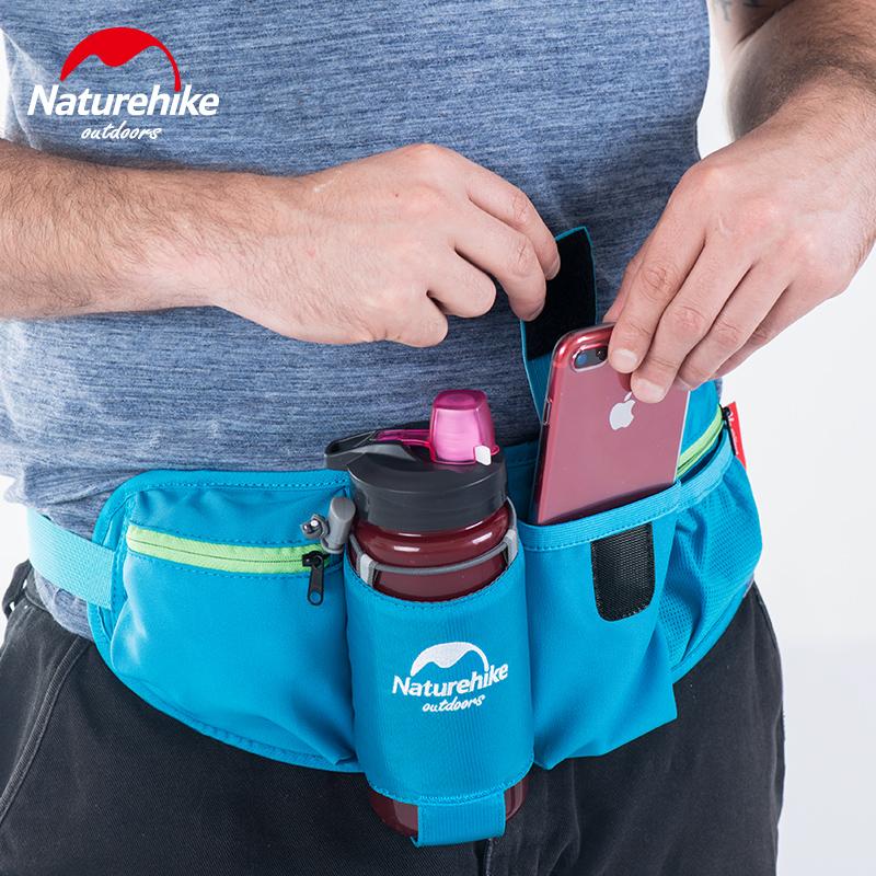 NH điện thoại di động chai túi thắt lưng túi giải trí ngoài trời đa chức năng thể thao túi chạy túi cưỡi điện thoại di động túi nam nữ - Túi
