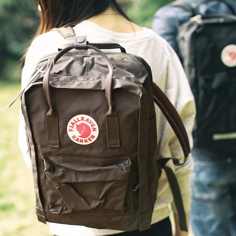 f55184aa37a4 Arctic fox Fjallraven Kanken Laptop 13 15 17 computer bag backpack  schoolbag spot