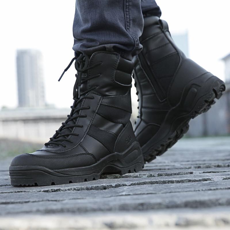 51783 户外三角洲高帮战术沙漠靴男511保暖战术靴秋冬军靴作战靴
