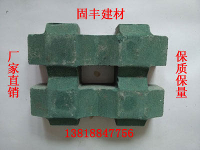 Well-graphic straw brick 8 word lawn brick Dutch brick water brick paving brick fabric brick parking lot brick green brick