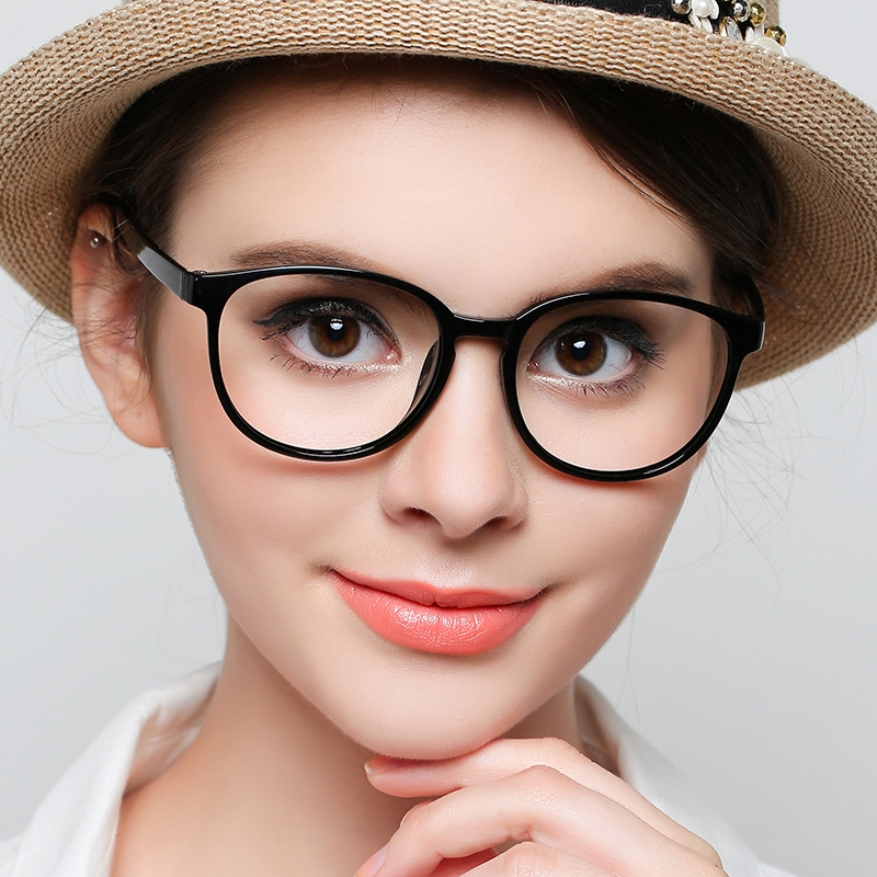 0c3b8b5e86 Hai Wei glasses frame myopia female full frame retro tr90 Korean version of  the tide fashion