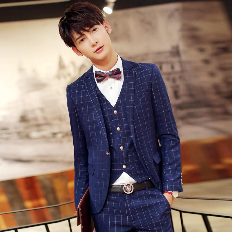 罗蒙西服套装男士春夏薄款羊毛桑蚕丝职业装商务正装工作男式西装