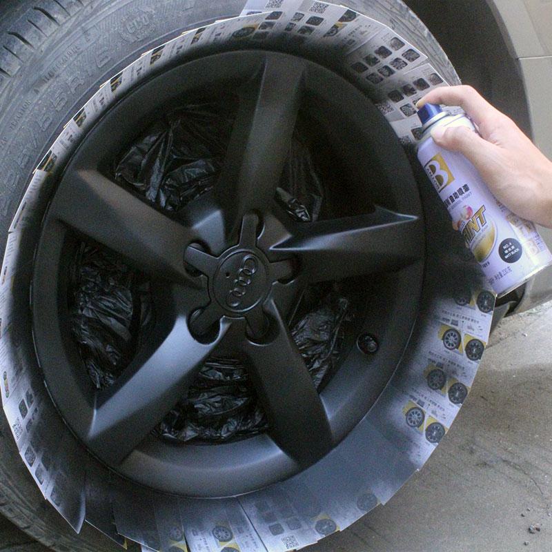 Usd 10 04 Black Self Paint Car Wheels Matte Black Matt