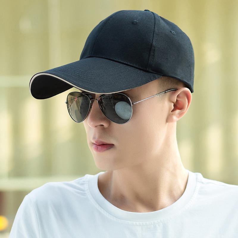 Outdoor visor lengthened baseball cap male sports cap hat men s summer  Korean Wave sun hat 2273ef897cd9