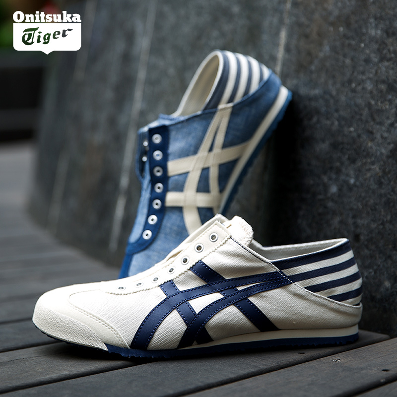 sale retailer d18aa 7f825 Onitsuka Tiger onetsuka Tiger men and women shoes Arthur flagship a pedal  canvas shoes lazy shoes TH342N