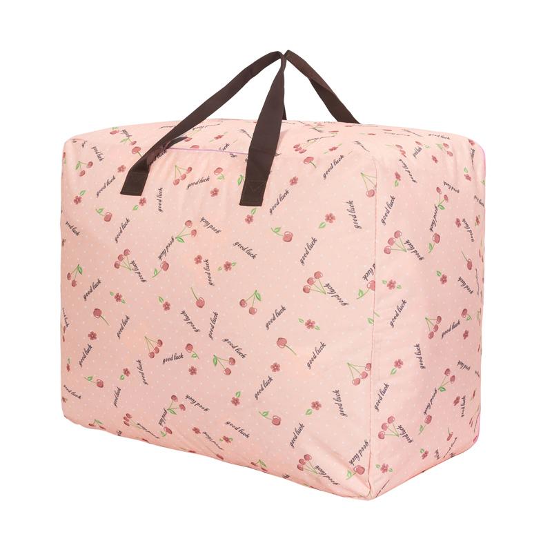 搬家加厚棉被子收纳袋牛津布子箱包大号放衣物整理幼儿园装衣服