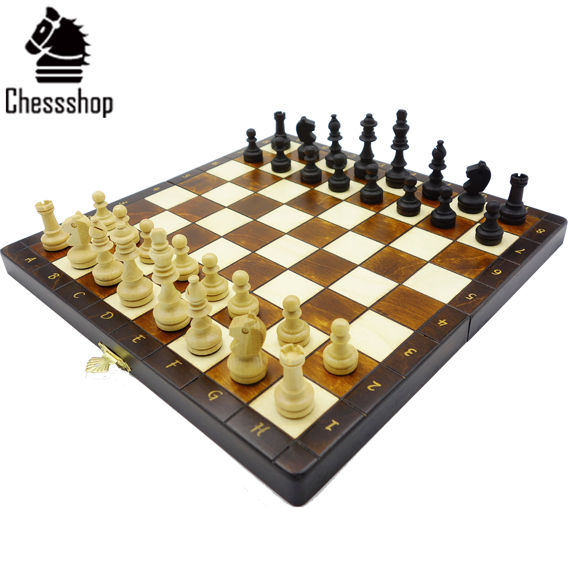 Chessshop волна портленд импорт дерево ручной работы портативный ребенок сложить магнитный шахматы этот суп дейтон