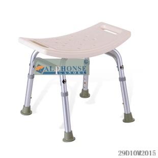 正品立德稳洗澡椅子洗澡凳老人 铝合金洗澡凳折叠浴室凳子淋浴椅