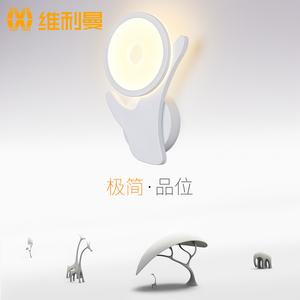 美式壁灯温馨卧室床头灯现代简约LED客厅灯电视墙背景创意灯具