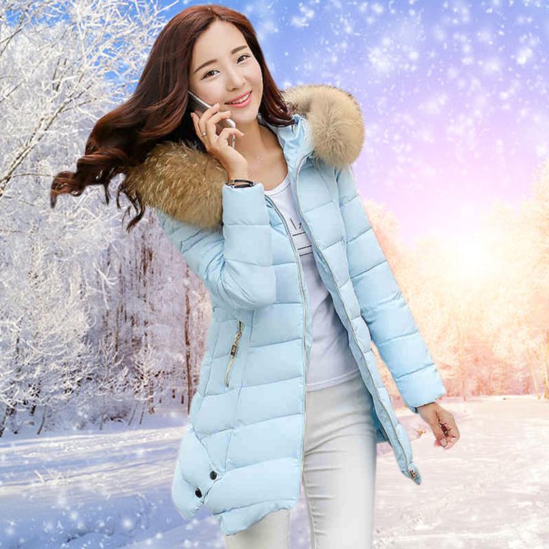 2015冬装新款欧美军绿大衣保暖加绒加厚棉衣中长款修身棉服外套女