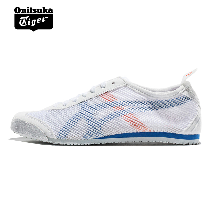 hot sale online a1f19 934d9 OnitsukaTiger Onitsuka Tiger casual shoes white board shoes men and women  MEXICO 66 D508N -0144