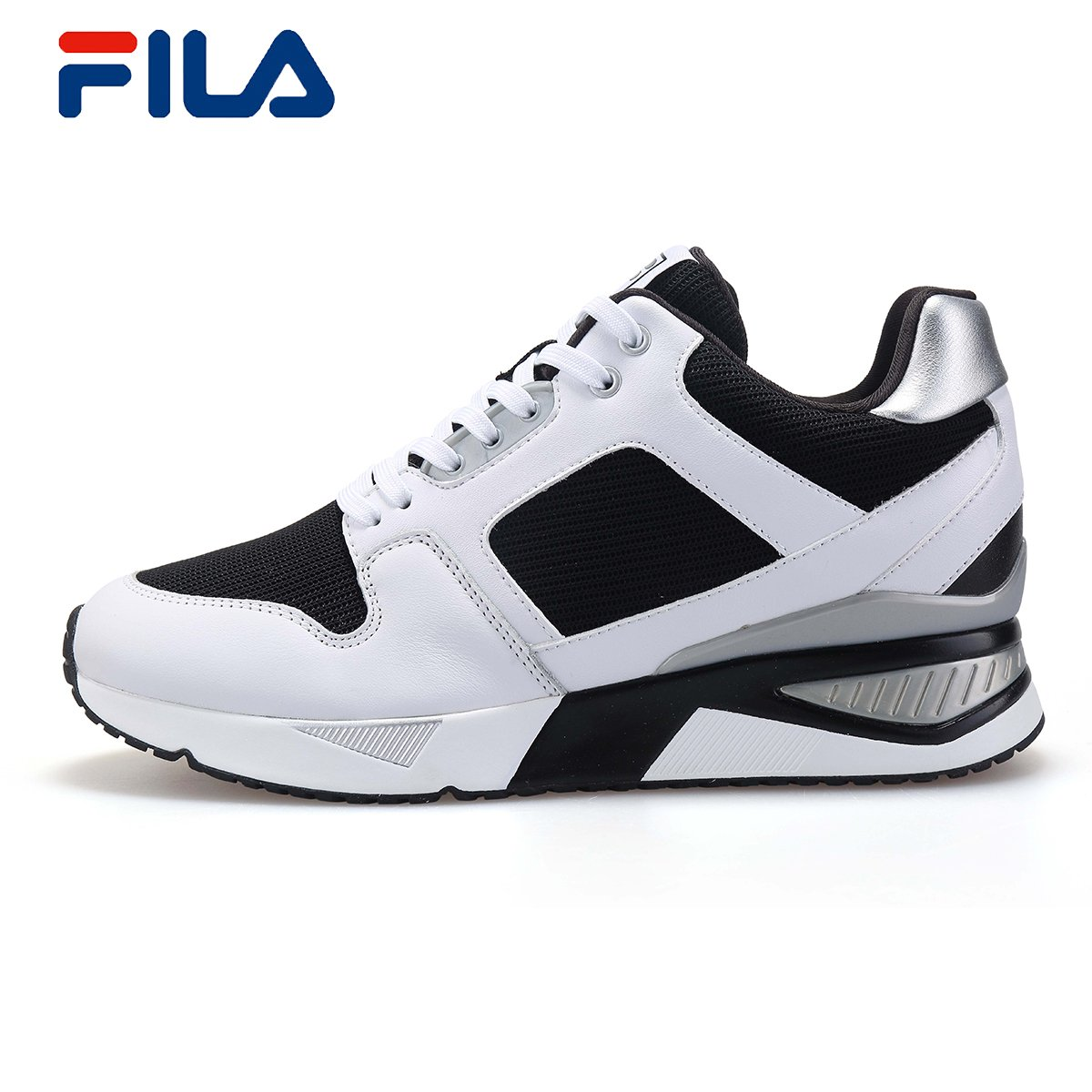 eff8d4a4d55d Grab FILA Fei Le autumn new high-rise shoes female shock-absorbing non-slip  increased casual shoes) 22635104