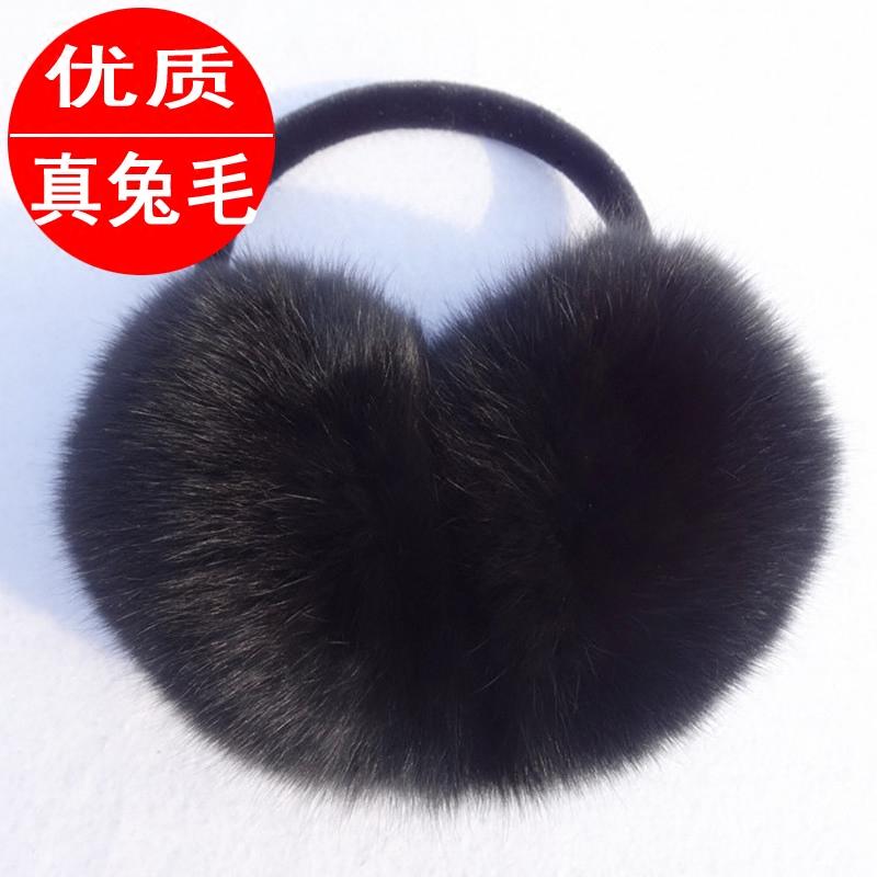 Бесплатная доставка по китаю Ухо уха накладка зимний удерживающий тепло на самом деле мех кролика шуба Ухо закрывают уши пакет корейская версия Симпатичные и негабаритные мужские и женские Защита для ушей