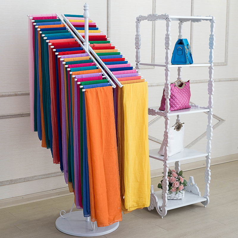 Iron Scarves Scarves Clothing Store Clothing Pants Display Stand Fascinating Free Standing Quilt Display Rack