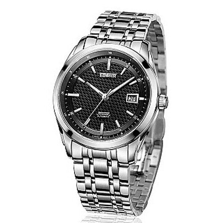 依波男士自动机械能量显示手表 圆形精钢材质防水联保 2015年新款