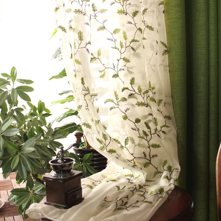 简约现代宜家蓝色窗帘成品布料客厅卧室儿童落地窗飘窗定制地中海