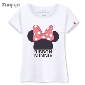 韩版时尚纯棉短袖女T恤