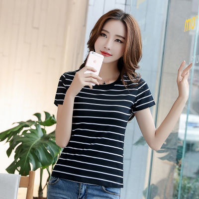 Summer summer middle-aged women loaded mother loaded cotton short-sleeved T-shirt body blouses 桖 on clothes 30 35 40-year-old nv
