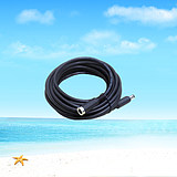 Solar pure copper extension cord extension cord flexible cable cord outdoor multi-core waterproof cable 0.5 square wire