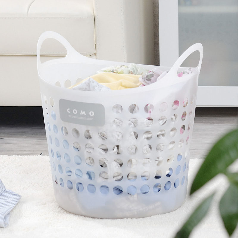 An Imported Laundry Basket Clothes Storage Plastic Dirty Large