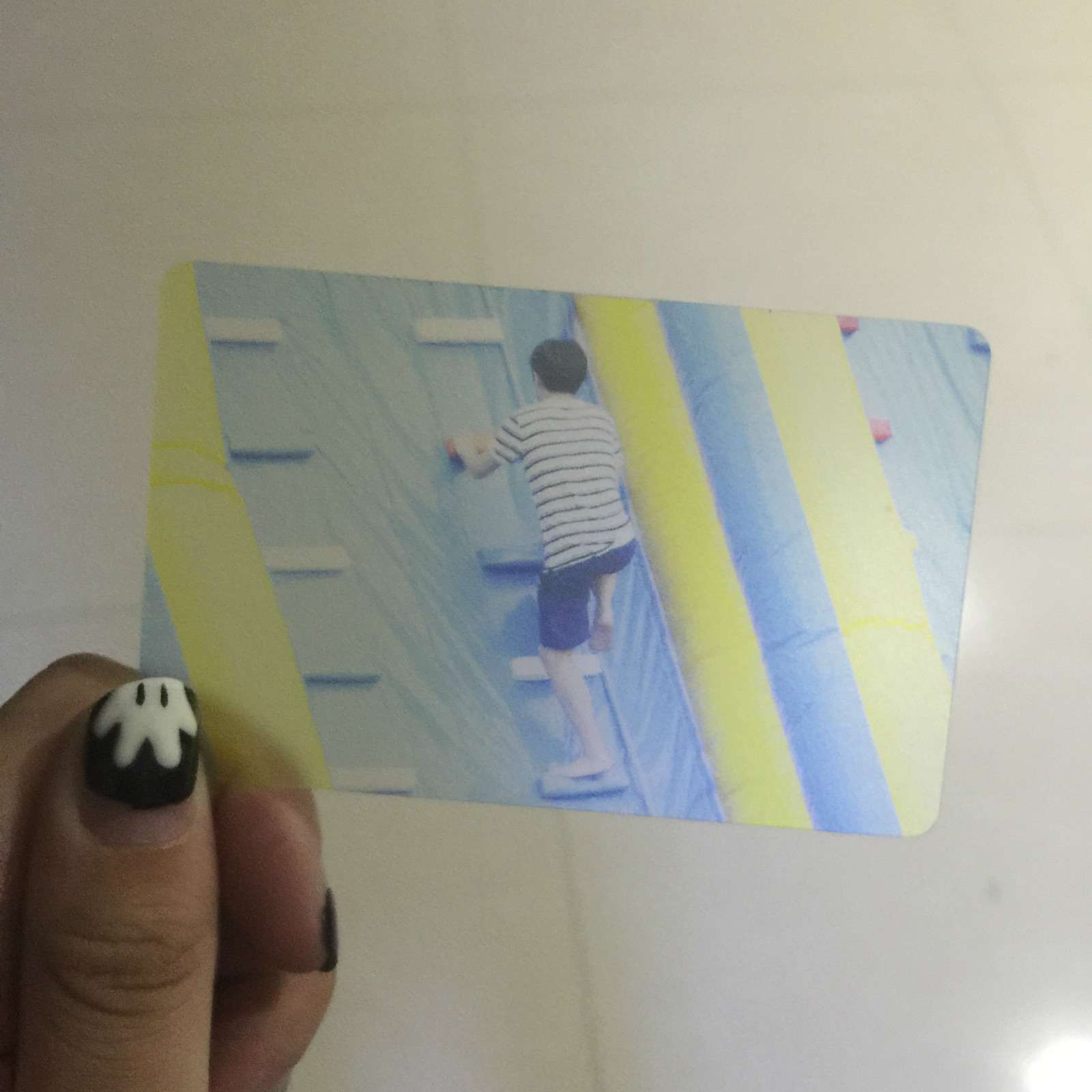 Концерт EXO должен поддерживаться маленькой карточкой custom pvc ноутбук Прозрачные закругленные углы, чтобы отобразить пользовательские 2pm вокруг Dong Bang Shin Ki