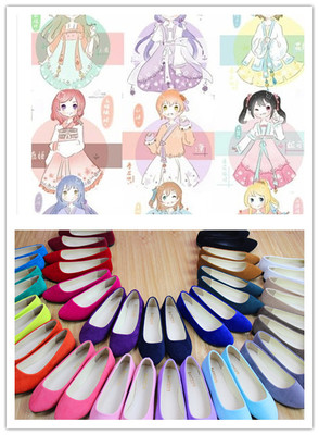 taobao agent 【lovelive】Spring flowers still COS shoes with Chinese elements
